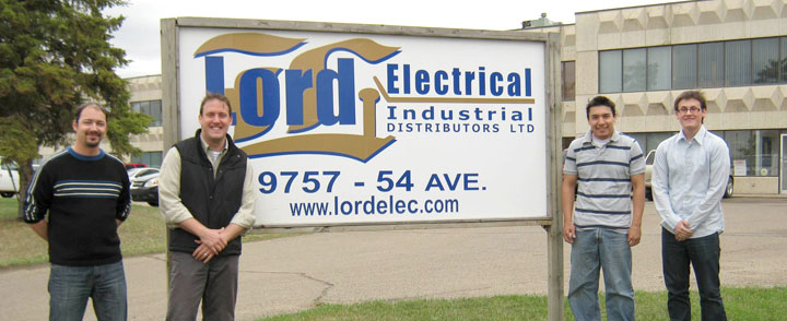 Lord Electrical Industrial Distributors Edmonton Calgary